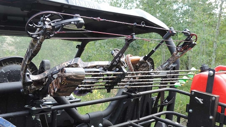 Polaris Ranger Chainsaw Mount