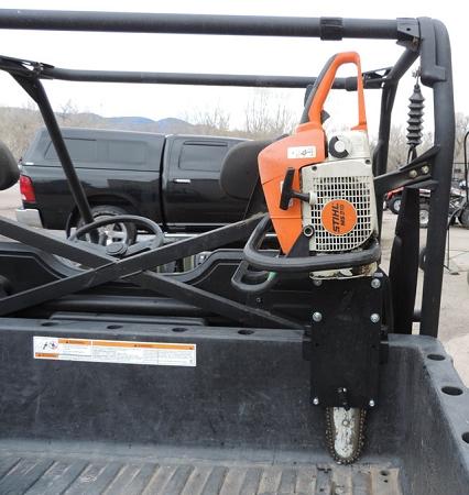 polaris ranger chainsaw mount