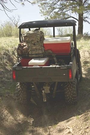 Polaris Ranger Cargo Rack