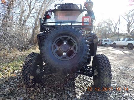 Atv Utv Spare Tire Mount Carrier