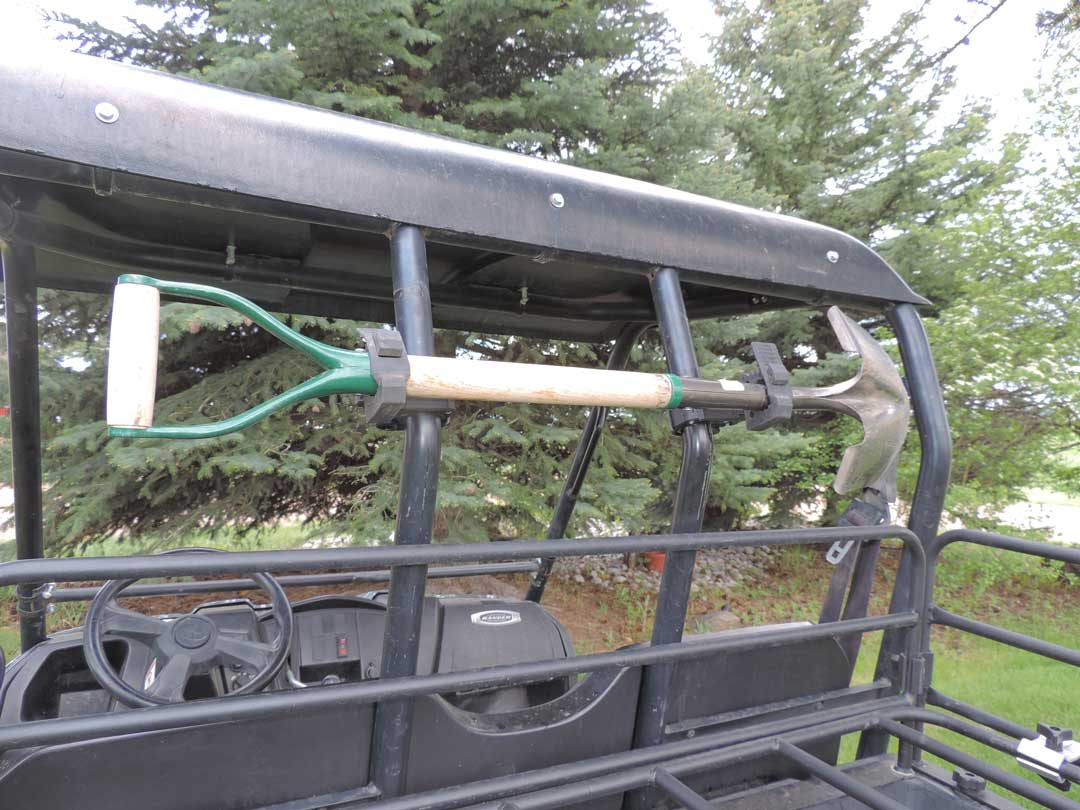 Adjustable Hitch Receiver >> Polaris Ranger Chainsaw Mount