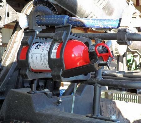 Utv Fire Extinguisher Mount