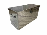 R 3024 ATV/UTV Diamond Plate Aluminum Tool Box Medium