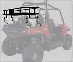 RZ-800 Polaris RZR 800 Cargo Rack BLEMISHED; Fits 2008-2014 RZR 800 Models