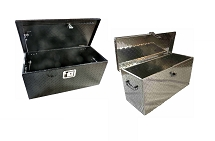 Diamond Plate Aluminum Tool Box Large 31