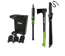UTV Roll Bar Gerber Tool Kit with Hatchet, Saw, Machete