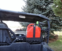 UTV Roll Bar Universal Fuel Carrier Fits Most UTV's