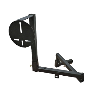 Truck  Receiver Hitch Spare Swing Away Spare Tire Mount