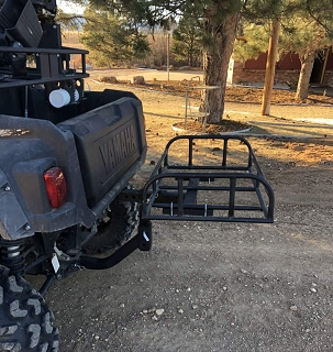 UTV Cargo Bed Rack Extension