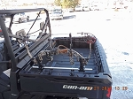 Can Am Defender Bow Mount Single  Fits all Can Am Defenders
