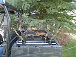 Polaris Ranger & General Bow & Tool Mount DOUBLE