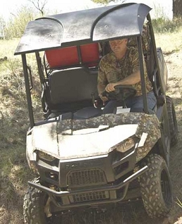 Polaris Ranger Mid Size One Piece Roof