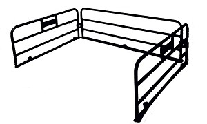 Polaris Ranger Bed Rack Rails