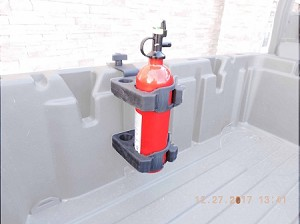 Can Am Defender Fire Extinguisher Mount