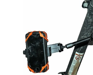 UTV  Roll Bar Smart Phone Holder and Charger Combo