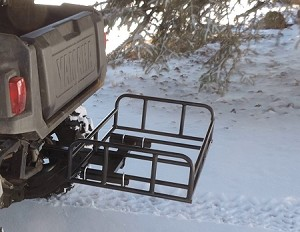 Receiver Hitch Cargo Carrier Basket