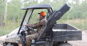 UTV Roll Bar Gun Scabbard