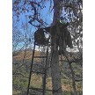 Picture of (3) Tree Stand Hooks holding the coat, binoculars, pack,  beverage holder, and Hornet Bow Hanger