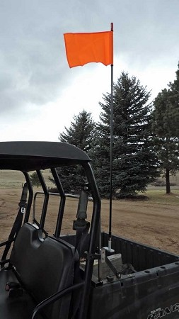 UTV Roll Bar Flag Mount